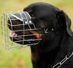 Rottweiler Muzzle - Wire Muzzle,Cage Muzzle,Basket Dog Muzzle For Rottweiler