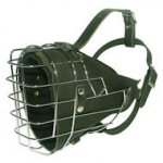Deluxe Padded Wire Dog Muzzle