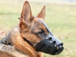 Anti-Biting Leather Dog Muzzle