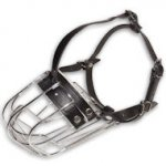 Medium Dog Wire Muzzle-Cage Basket Dog Muzzle