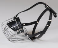 Bloodhound Wire Muzzle-Cage Basket Dog Muzzle for Flemish Hound