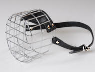 K9 Dog Wire Muzzle-Cage Basket Dog Muzzle