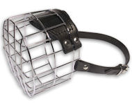 Large Wire Dog Muzzle-Cage Basket Dog Muzzle for BIg DOGS