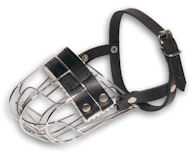 Small Wire Dog Muzzle for small BREEDS-Cage Basket Dog Muzzle