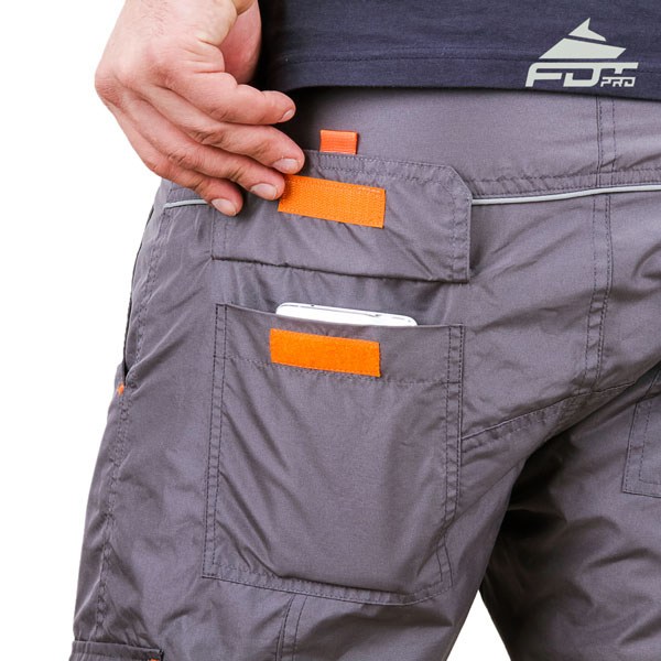 Comfortable Design FDT Pro Pants with Reliable Back Pockets for Dog Training