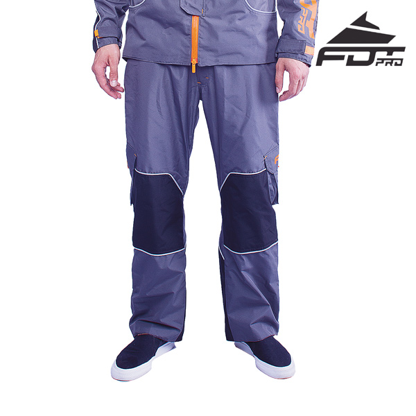 FDT Professional Pants Grey Color for Cold Days
