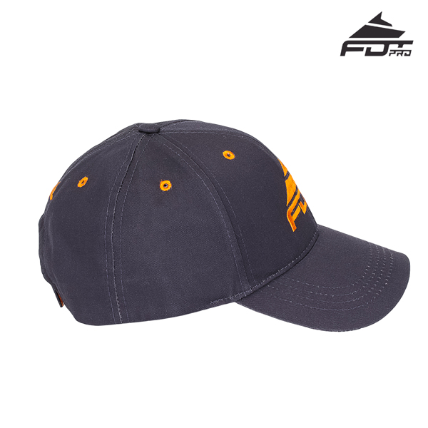 Top Notch Easy to Adjust Snapback Cap for Dog Walking
