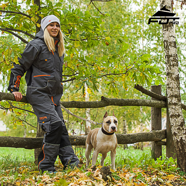 Men / Women Design Pants with Convenient Side Pockets for Active Dog Trainers