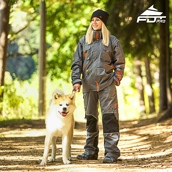 Men and Women Design Dog Trainer Jacket of Quality Materials
