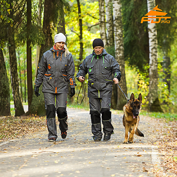 Any Weather High Quality Dog Training Suit for Men and Women