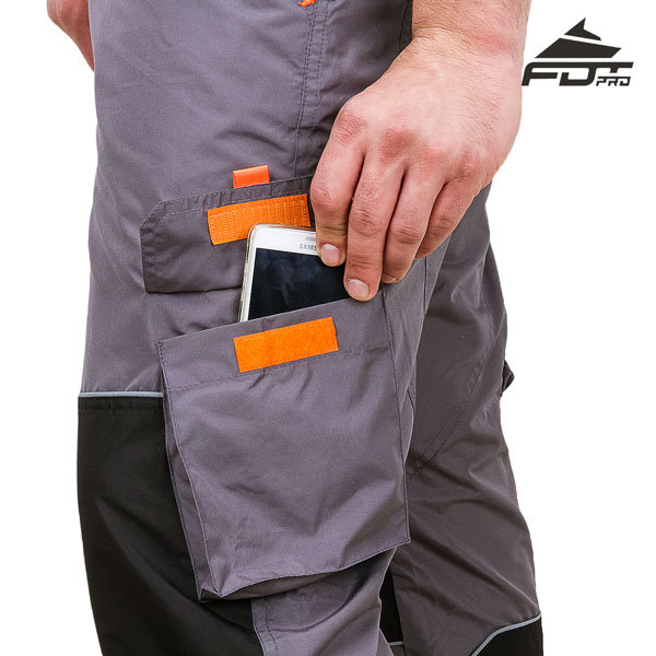 Comfortable Design FDT Pro Pants with Reliable Back Pockets for Dog Trainers